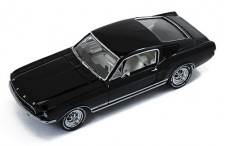 FORD MUSTANG GT Fastback 1967 Black W/ White Interior