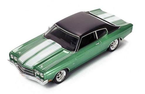 CHEVROLET CHEVELLE SS 1970 GREEN/WHITE