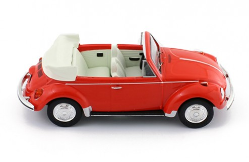 VOLKSWAGEN SUPER BEETLE 1973 CONVERTIBLE RED