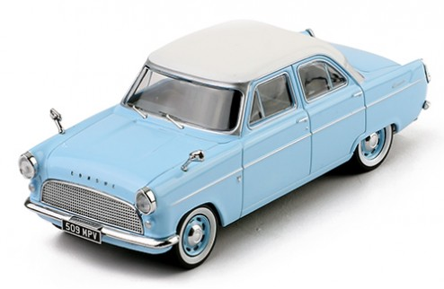 FORD CONSUL MKII 1959 Light Blue W/ White Roof