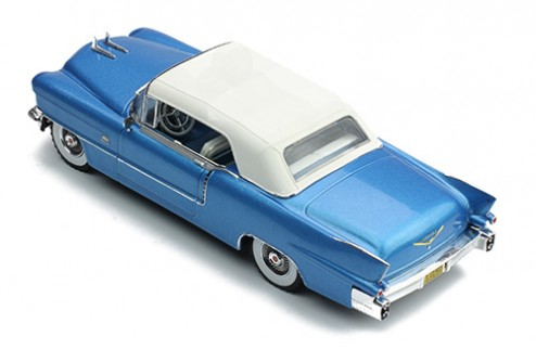 CADILLAC ELDORADO BIARRITZ 1956 Metallic Blue With White Roof