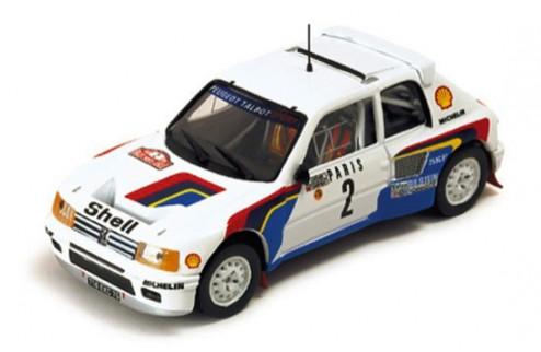 Peugeot 205 Turbo 16 A. Vatanen-T. Haryman Winner Rallye Monte Carlo 85