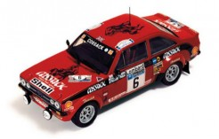 FORD ESCORT MKII R. CLARK-S. PEGG Winner RAC RALLY 1976