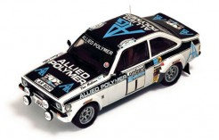 Ford Escort Rs1800 T. Makinen-H. Liddon Winner Rac Rally 1975