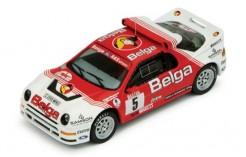 Ford Rs200 #5 (Belga) R. Droogmans-R. Joosten Rallye D