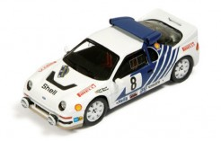 Ford Rs200 #8 K. Grundel-B. Melander Rally Sweden 1986 (with snow wheels & 2 extra lights)