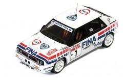 Lancia Delta Integrale 16v (Fina) #1 D. Auriol-B. Occelli Winner San Remo 1991