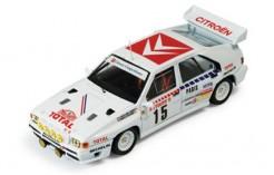 Citroen Bx 4tc #15 J. C. Andruet-A. Peuvergne Rally Monte Carlo 1986