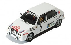 Citroen Visa 1000 Pistes #7 J-C. Andruet-A. Peuvergne Rally Monte Carlo 1985