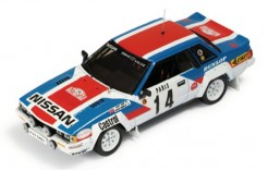 Nissan 240 RS #14 T. Kaby-K. Gormley Rally Monte Carlo 1984