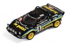 Lancia Stratos Hf #4 B. Darniche-A. Mahe Rally Monte Carlo 1981