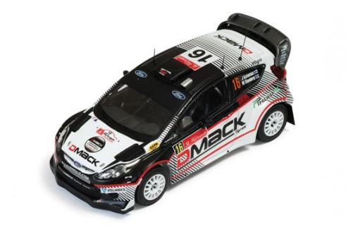 Ford Fiesta RS WRC #16 J.Ketomaa - M.Stenberg Rally Portugal 2012
