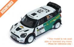 MINI JOHN COOPER Works WRC #23 J.Nikara-J.Kalliolepo Rally Sweden 2013