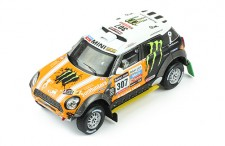 MINI ALL 4 RACING #307 L.Movitskly-K.Zhiltsov 3rd DAKAR 2013