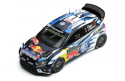 Volkswagen Polo R WRC #1 S.Ogier-J.Ingrassia winner Rally Monte - Carlo 2016