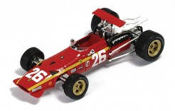 Ferrari 312 F1 #26 J. Ickx Winner French GP Rouen 1968