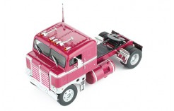 Kenworth Bullnose 1950 Bordeaux and Silver