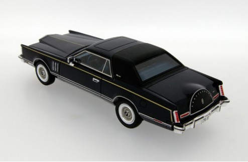 Lincoln Continental MKV - Midnight Blue - 1979