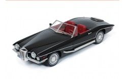STUTZ BLACKHAWK Convertible 1971 Black  (1/18 Resin)