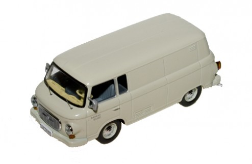 Barkas B1000 Van Closed - Light Grey - 1956