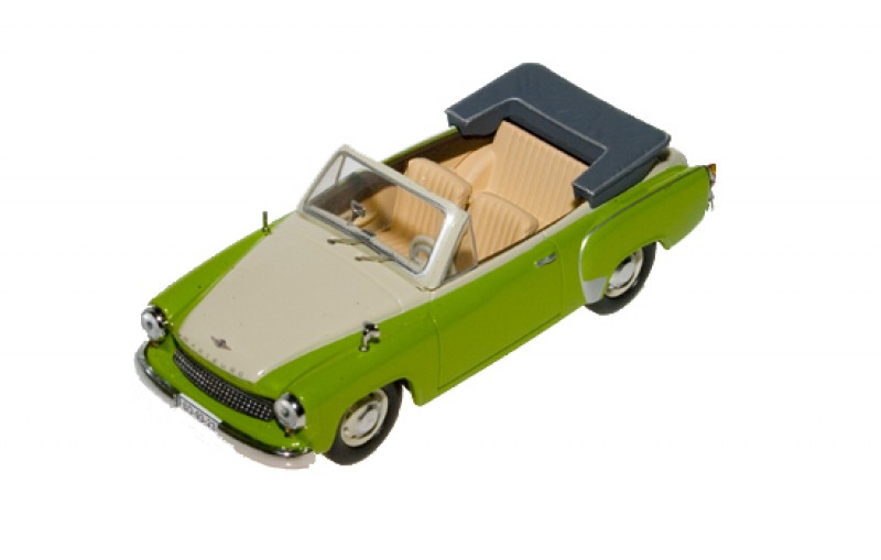 wartburg 311 cabrio green off white 1954. Black Bedroom Furniture Sets. Home Design Ideas