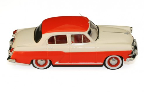 Volga M21 - Off White & Red (new front grill) - 1956
