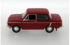 Zaz 968 - Red with brown interiors - 1973