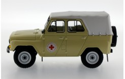 UAZ 469 BG Russian Medical Services - Sand and White Roof - 1977