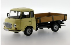 Barkas B1000 Pritschenwagen (pick-up) - Dark Beige - 1968