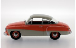 Wartburg 311 Coupe - Orange and Cream - 1958