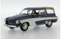 Wartburg 311 Camping 4-Doors - Dark Blue and Off White - 1960