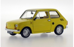 Polski FIAT 126P (Maluch) - Light Yellow (Metal Bumpers) - 1973