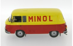 Barkas B1000 Minol Kastenwagen - Red & Yellow - 1960