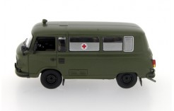 Barkas B1000 Military Ambulance - Dark Green - 1964