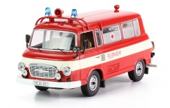 Barkas B1000 Feuerwher - Red with White Stripe - 1970
