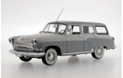 Gaz Volga M22G (export version) - 2-Tone Light Grey/Off White - 1964