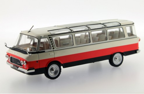 ZIL 118 Unost - Tricolor: White, Red and Black - 1964