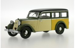 IFA F8 Kombi - Green and Black - 1955