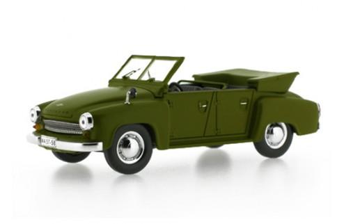 Wartburg 311-4 Kubel - Green - 1957