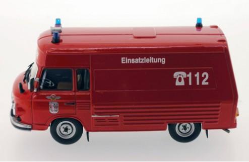 Barkas B1000 SMH-3 Feuerwehr - Salzwedel - 1984