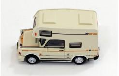 1:43 Istmodels Trabant 601 Caravan 1980 white//red