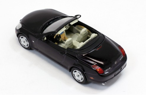 LEXUS SC430 OPEN CONVERTIBLE Blackish Red Mica