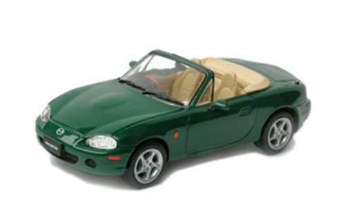 MAZDA MX-5 Open Convertible Dark Green