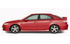 MAZDA 6 2002 5-Doors Metallic Red