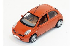 NISSAN MICRA 2002 Metallic Orange