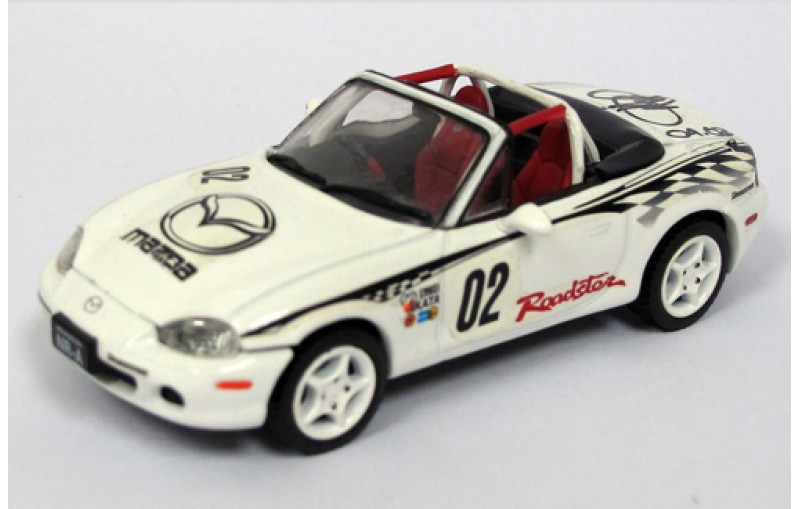 mazda mx 5 roadster nr a racing version white. Black Bedroom Furniture Sets. Home Design Ideas