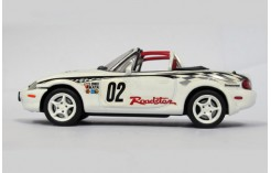 MAZDA MX-5 ROADSTER NR-A (racing version) White