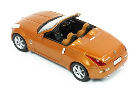NISSAN 350Z Roadster Cabriolet Orange