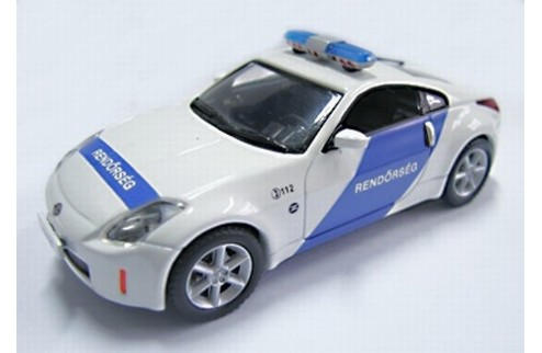 NISSAN 350Z Hungarian POLICE 2004