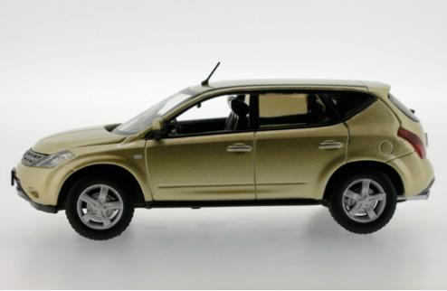 NISSAN Murano - European Version (E12) - 2005 - Luminous Gold